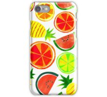 Tropical Fruit iPhone Case/Skin