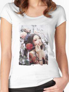 Seductive Painter Women's Fitted Scoop T-Shirt
