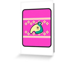ZOE ANIMAL CROSSING Greeting Card