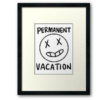 vacation 2 Framed Print