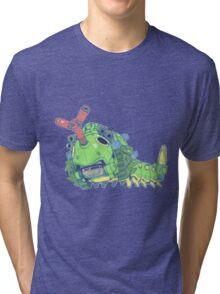 Pokezoids Caterpie Tri-blend T-Shirt