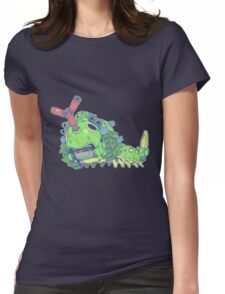 Pokezoids Caterpie Womens Fitted T-Shirt