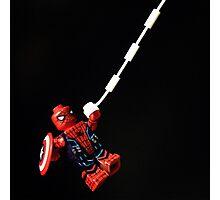 LEGO Spiderman - Captain America Civil War Photographic Print