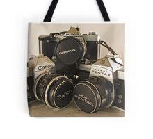 Trio of Film Love Tote Bag
