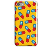 Deadly but Colorful. Pills Pattern iPhone Case/Skin