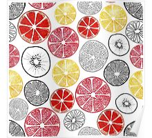 Fruit Slices Poster