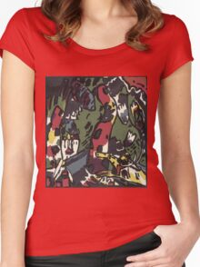 Kandinsky - The Archer Women's Fitted Scoop T-Shirt