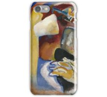 Kandinsky - Study For Painting With White Form iPhone Case/Skin