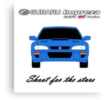 22B - Shoot for the stars Canvas Print