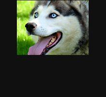 Micky Blue Eyes -Siberian Husky Dog - NZ Womens T-Shirt