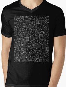 All Tech Line INVERTED Mens V-Neck T-Shirt