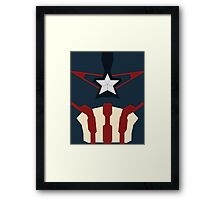 Captain of Avenging Framed Print