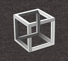 Mind blowing Escher's cube Unisex T-Shirt