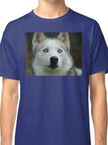 Look Into My Baby Blues!!! - Siberian Husky - NZ Classic T-Shirt