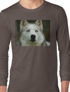 Look Into My Baby Blues!!! - Siberian Husky - NZ Long Sleeve T-Shirt