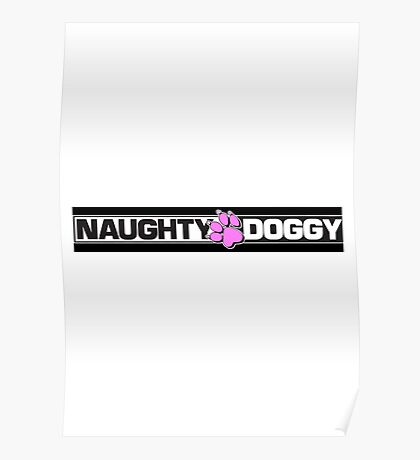 Naughty Dog LOGO Poster