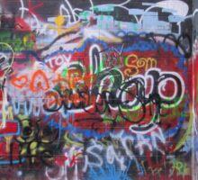 Graffiti Alley Sticker