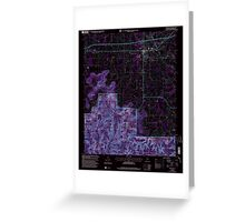 USGS TOPO Map Alabama AL Moulton 304610 2000 24000 Inverted Greeting Card