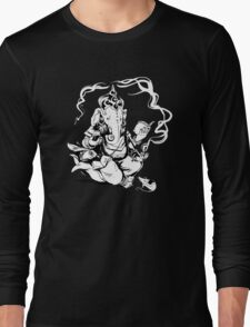 Nerdy Ganesha Long Sleeve T-Shirt