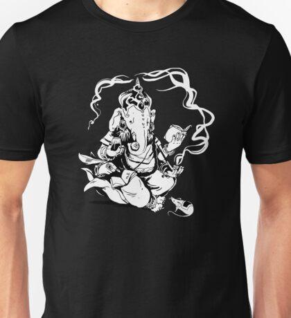Nerdy Ganesha Unisex T-Shirt