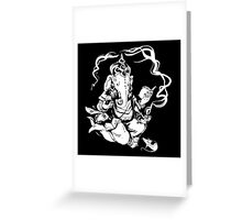 Nerdy Ganesha Greeting Card