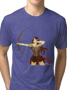 Elf Warrior Tri-blend T-Shirt