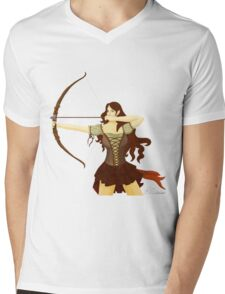 Elf Warrior Mens V-Neck T-Shirt