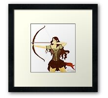 Elf Warrior Framed Print