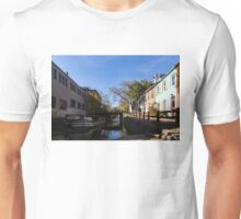 The Georgetown - an Old Boat on Historic Chesapeake and Ohio Canal in Washington DC Unisex T-Shirt