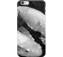 A Pair of Koi In Black and White iPhone Case/Skin