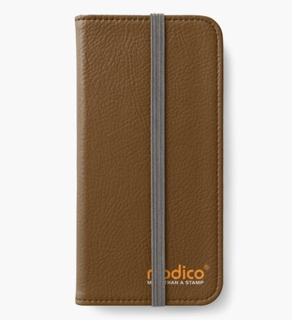 Modico Stamps iPhone Wallet/Case/Skin