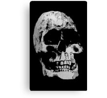 Grunge Cool Skull Canvas Print