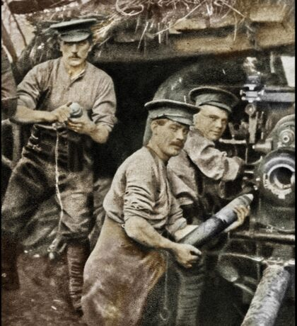 Gunners at the Front Ypres Sticker