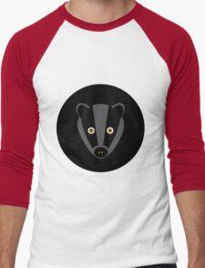 Black Badger Men's Baseball ¾ T-Shirt