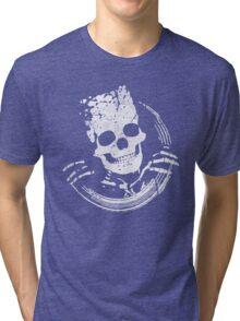 Funny Skull Tri-blend T-Shirt