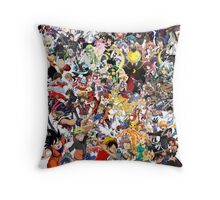 Anime mix - All Animes (Allstar Anime) Throw Pillow