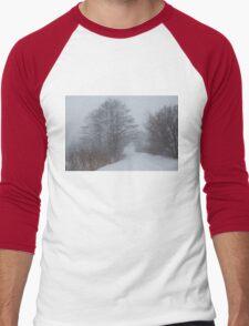Snowstorm Magic Men's Baseball ¾ T-Shirt