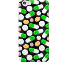 Deadly Pills Pattern iPhone Case/Skin