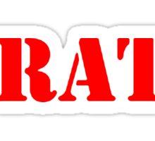 WRATH Sticker