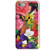 MIX FLOWERS iPhone Case/Skin
