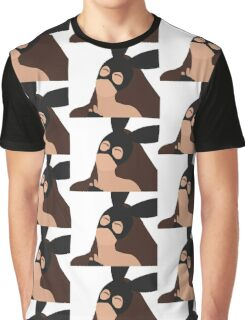 Ariana Grande Vector Drawing Graphic T-Shirt