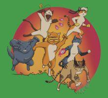X-Cats One Piece - Short Sleeve