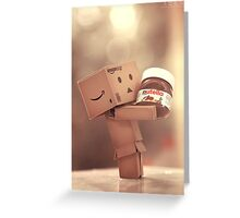 Danbo and Nutella Greeting Card