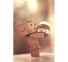 Danbo and Nutella Photographic Print