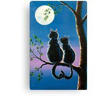 cat in love Canvas Print