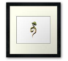 Symbol Tree Framed Print