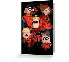 The Incredibles Greeting Card