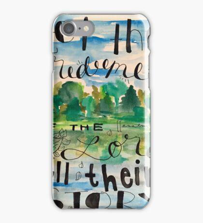 Psalm 107 iPhone Case/Skin