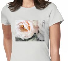 Pretty in Peach Womens Fitted T-Shirt