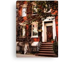 Greenwich Village Charm Canvas Print